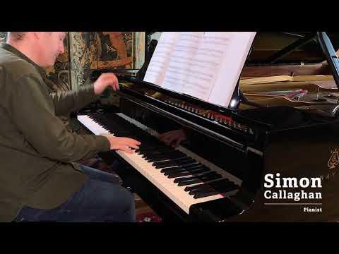 Richardson   Gavotte from Suite Op. 38 - Simon Callaghan
