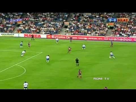 Ronaldinho vs Zaragoza - 2004-05 - 720p - Roni Tv