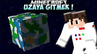 UZAYA GİTME MODU !! (Roket,Yerçekimi,Gezegenler) - Minecraft Mod Tanıtımları #72