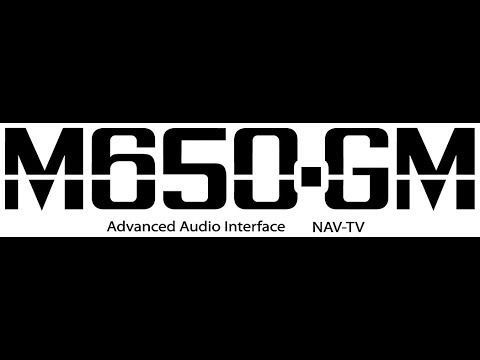 M650GM Advanced Audio Integration for General Motors with MOST