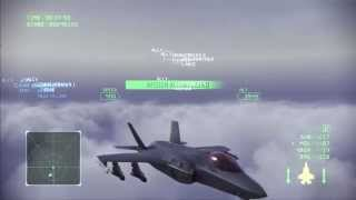 Ace Combat Infinity: Mission 6 Avalon ( Ace Combat Zero Final Mission Remake ) 1080p