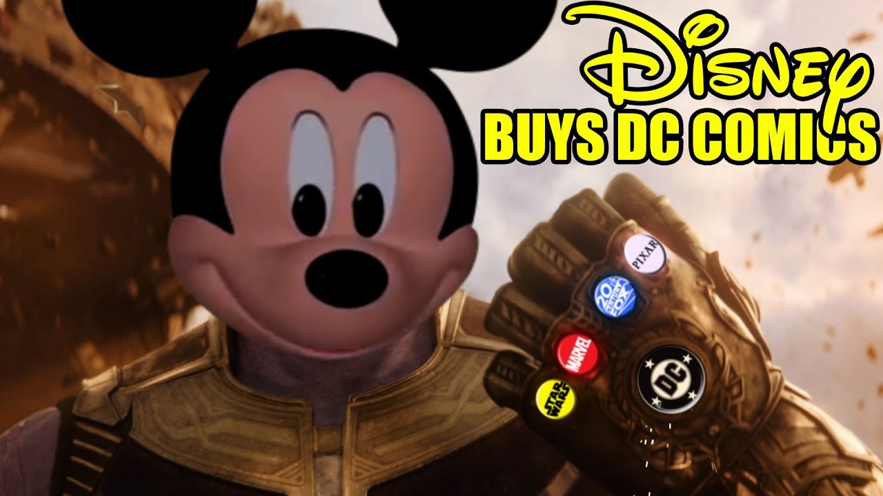 Disney Buys Dc Comics Batfleck Is Not Amused Youtube