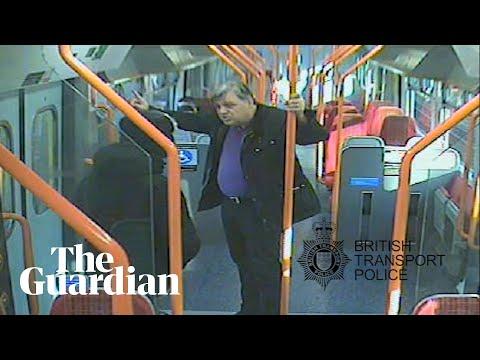 Jurors watch video of 'frenzied' fatal stabbing of train passenger