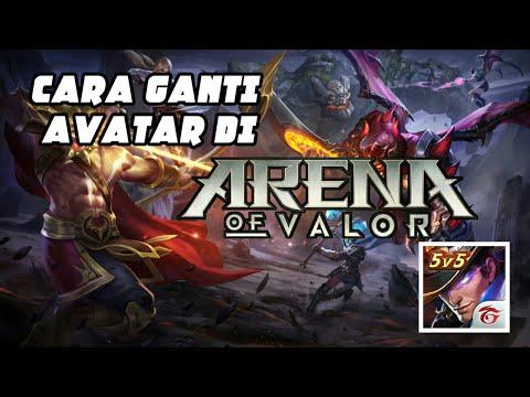 Cara Mengganti Logo Avatar Arena Of Valor