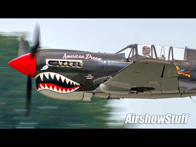 Curtiss P-40 Aerobatics - EAA AirVenture Oshkosh 2021