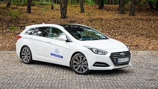 Hyundai i40 Wagon 1.7 CRDI 7 DCT Premium 2015 test PL смотреть