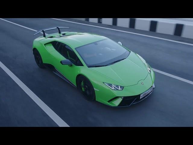 Supercar Drive Test - Lamborghini Huracán vs Ferrari 488GTB vs Nissan GTR