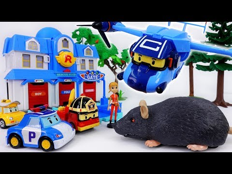 Thumbnail: Giant Rat in The Brooms Town~! Robocar Poli, Rescue Your Friends