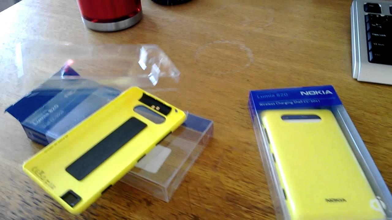 Nokia Limia 820 крышка для беспроводной зарядки Youtube