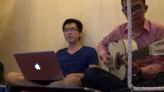 Acoustic Cover - Cơn mưa ngang qua - Ko0on ft. DHSZ