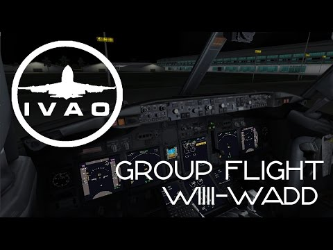 [FSX+IVAO] Group Flight Jakarta - Bali