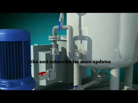 Oily water separator best animation