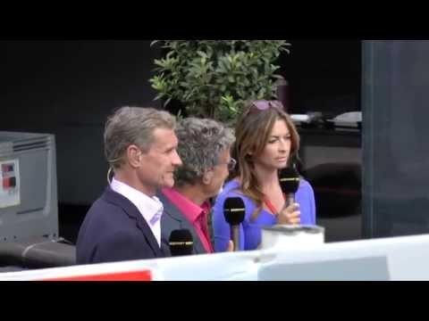 BBC F1 Team At Monaco Grand Prix 2015 Post-Race Paddock Area