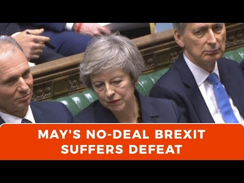 PART 1: Theresa May's no-deal Brexit suffers defeat (Video)