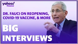 Dr. Fauci talks coronavirus vaccine, reopening the country, and more