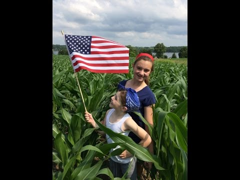 Corn Tracker Series-#3 Knee high by the 4th of July!