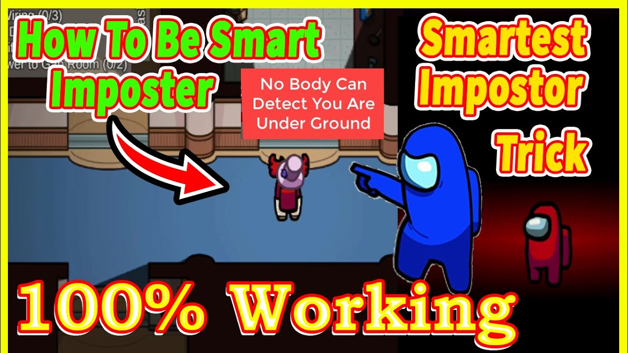 How Smartest Impostor Trick in Among US | How To Secret Imposter Among Us | How To Be Smart Imposter