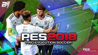 PES 2018 GAMEPLAY! GERMANY VS ARGENTINA