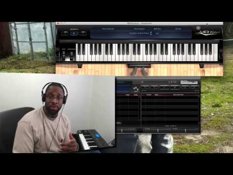 How To Display Piano Keys On Screen