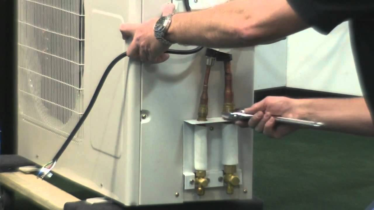 Split Ac Wiring Diagram Image For Spotlights Ideal Air Mini Installation - Youtube