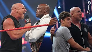 Goldberg vs. Bobby Lashley for the WWE Title is made official for SummerSlam   Monday Night RAW