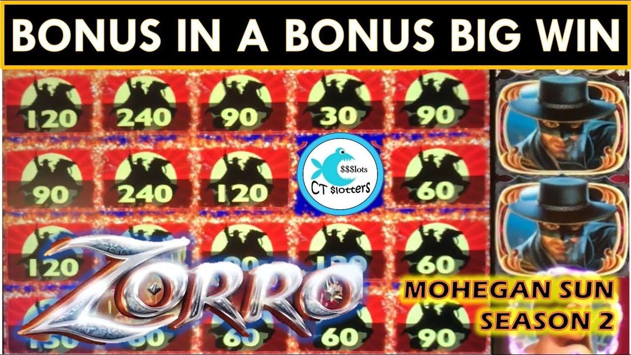 Love The Bonus In A Bonus Big Wins Zorro Mighty Cash Slot Machine