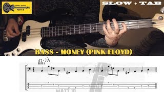 Money (Pink Floyd) BASS TAB Slow Playalong