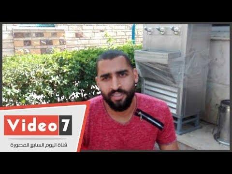عامر عامر حارس الإنتاج الحربى يتحدث عن إنضمامه للفراعنة  - 13:22-2018 / 4 / 25
