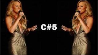 Mariah's Live Vocal Range (Charmbracelet Era)
