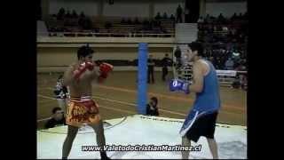 Muay Thai Chile Nicolas Nuñez (santiago) Vs Fabian Cañulef (pto Montt)
