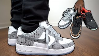 How To Lace Nike Air Force 1s Loosely | The BEST Ways + On Feet (Tutorial)