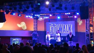 My Hero Break Out performance at Universal Citywalk