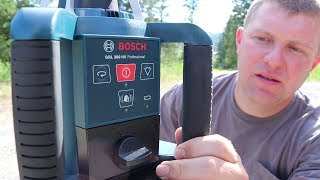 WORTH THE $700! 😰 (Bosch Laser Level Unboxing)