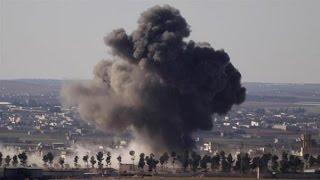 17.03.17 Американские бомбы угодили в мечеть в провинции Алеппо, десятки погибших, конфликт в Сирии