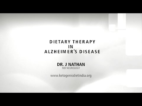 Dietary Therapy in Alzheimer's Disease