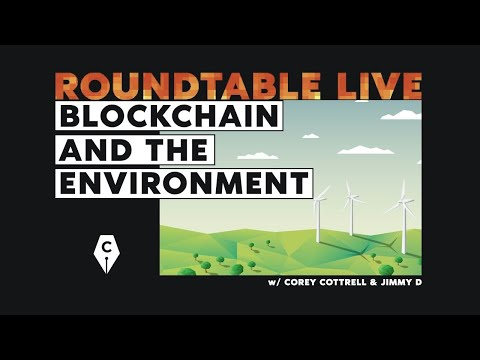 Roundtable – Blockchain & the Environment / The Cryptowriter Podcast LIVE