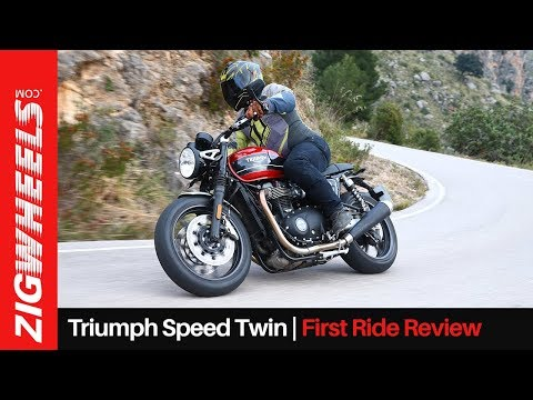 Triumph Speed Twin First Ride Review   A Friendlier Thruxton Or More?   ZigWheels.com