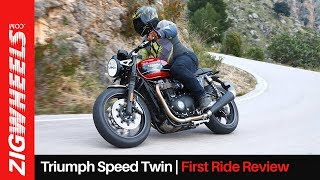 Triumph Speed Twin First Ride Review | A Friendlier Thruxton Or More? | ZigWheels.com