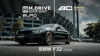 BMW F32 (4-series) by H.Drive Motor Sport and BC Forged