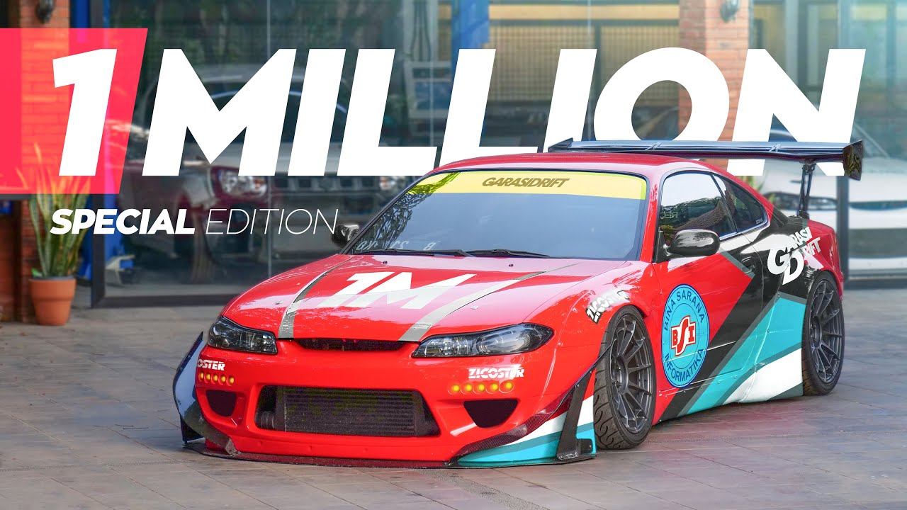 Garasi Drift Special 1,000,000 Subscribers