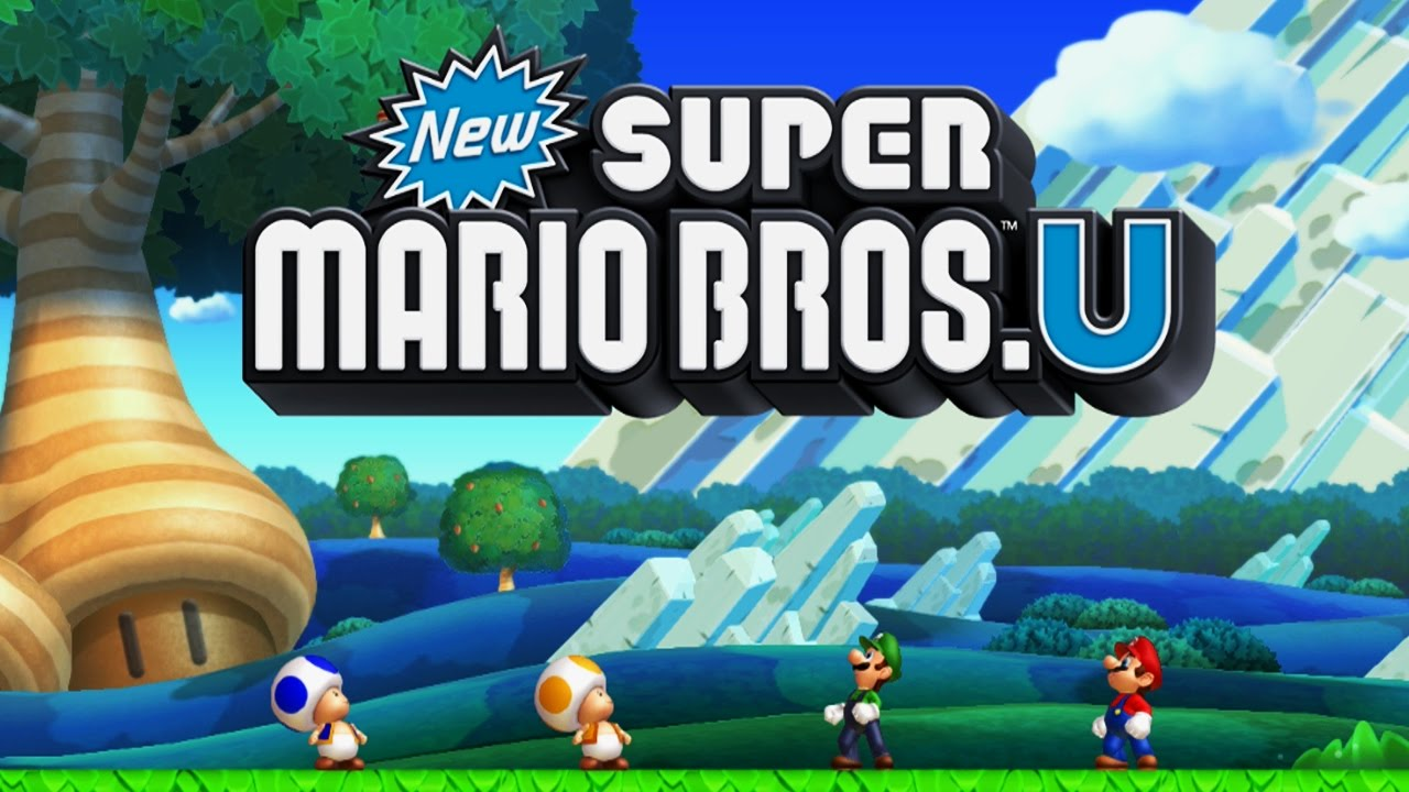 New Super Mario Bros  U Worlds 1 - 9 Full Game (100%)