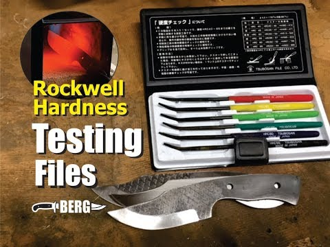How To Use Rockwell Hardness Files For Knife Making