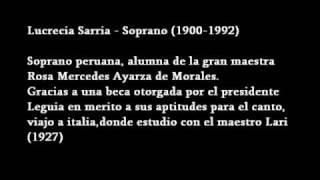 Lucrecia Sarria - Ah! non credea mirarti