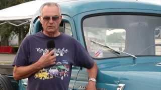 1956 International S-112 Owner Interview (2014 Vintage Truck Show)