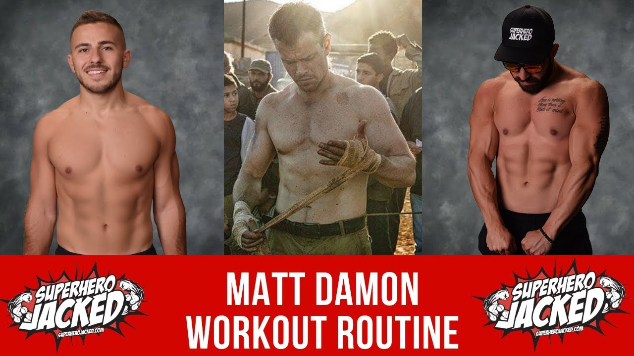 Matt Damon Workout Routine Guide
