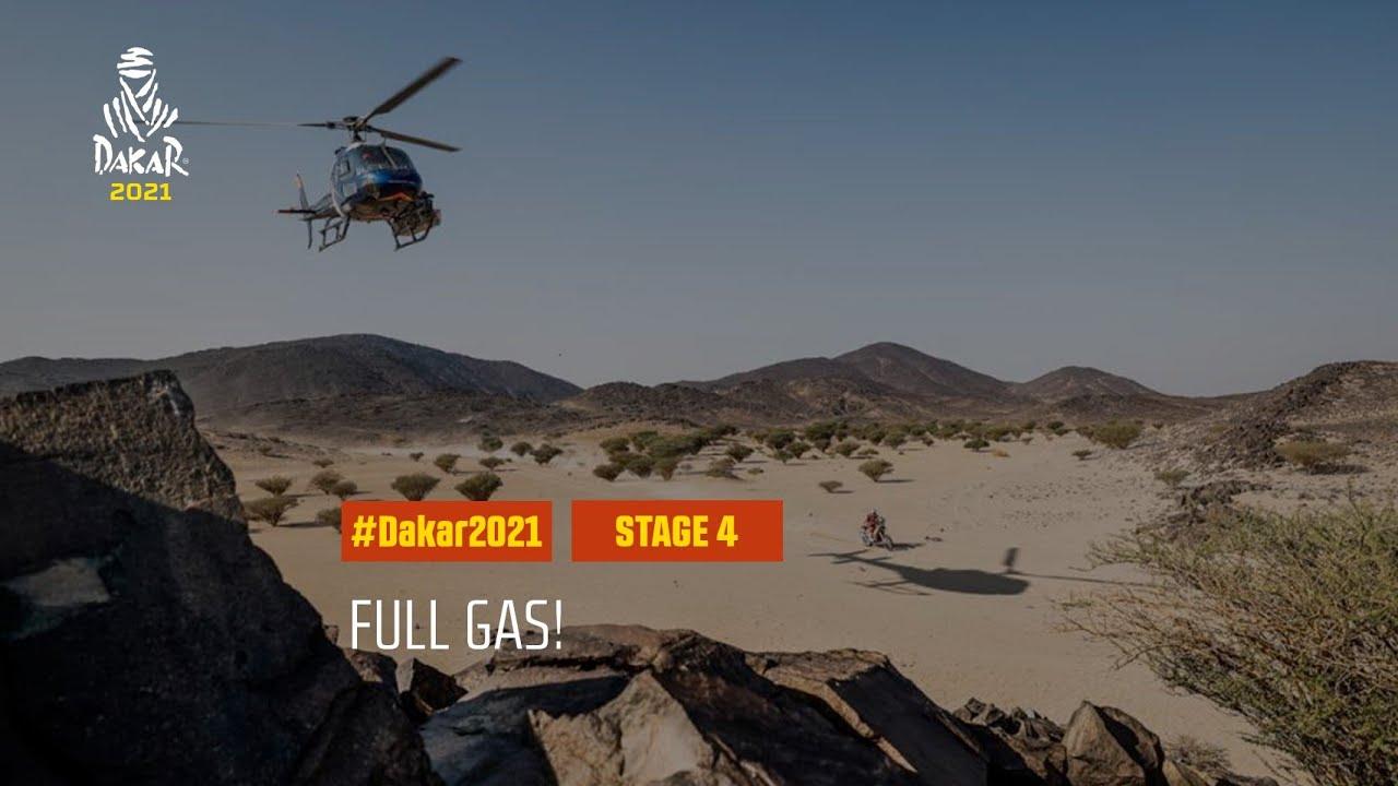 #DAKAR2021 - Stage 4 - Full gas!