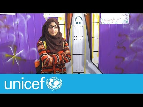 From Syria to the stars | UNICEF