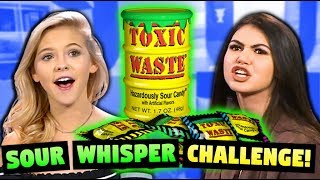 SOUR WHISPER CHALLENGE WITH JORDYN JONES!