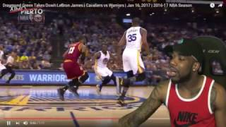 Draymond Green Attacks LeBron James Reaction! GoldenState Warriors Vs Cleveland 126-91