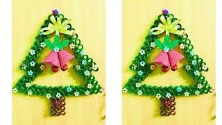 DIY Easy Christmas Craft Idea | Very UNIQUE CHRISTMAS WRETH idea